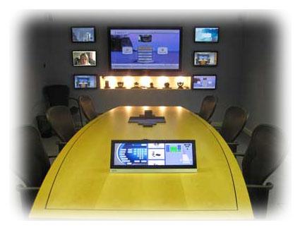 Boardroom Video Conferencing Demonstration UK