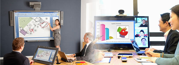 Remote Collaboration with Bridgit, AMX, Smart, WebEx and cloud solutions