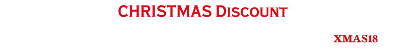 Christmas Discount - Order before midnight on the 17th December 2018 and receive a 5% discount on your item!  Discount applied at the checkout by using discount code XMAS18
